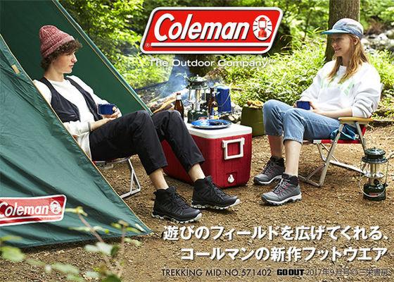 コールマン colemanの新作トレッキングフットウェア
