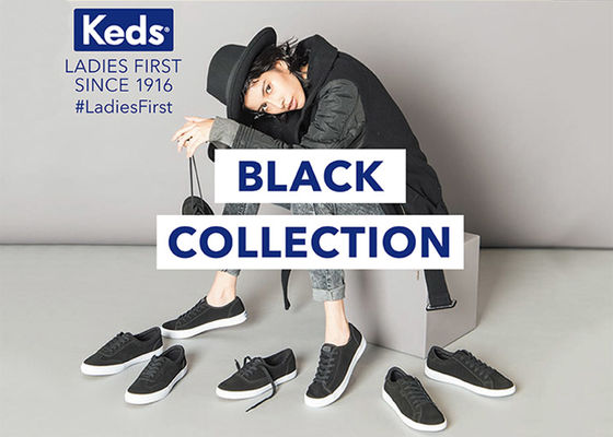【keds】BLACK COLLECTION